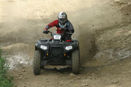 The bottom line on Polaris� flagship ATV is that it�s easy to ride and probably capable of doing more than you are.