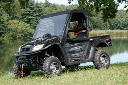 The LE package takes the UXV 500 to whole new level.