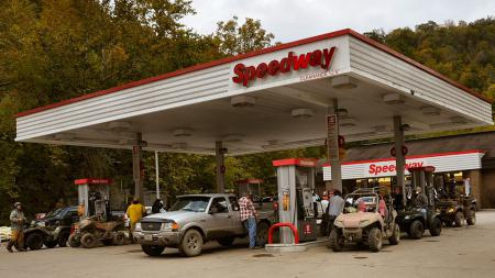 When you come to Hatfield-McCoy, fueling up is as easy as riding your ATV to the nearest gas station.