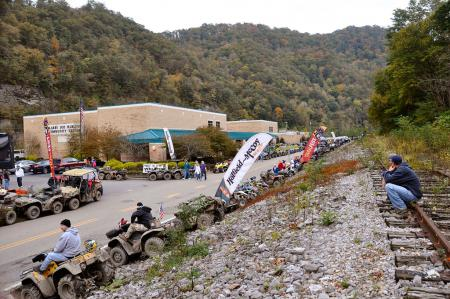 Nearly 500 ATVs and UTVs took place in the TrailFest parade this year.