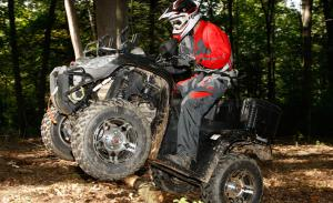 Though they're quite versatile, we find the 50/50 boots are just about perfect for utility quads.