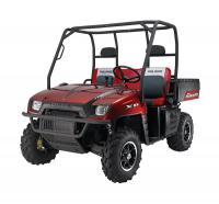 A popular seller last season, Polaris brings back an enhanced Midnight Red edition for 2008.