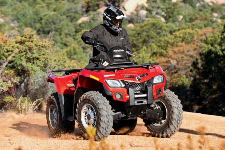 2010 Can-Am Outlander 800R EFI