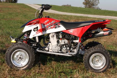 quad polaris outlaw 450 mxr