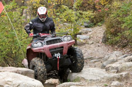 Rock crawling is just one area where the Brute Force 750 shines.