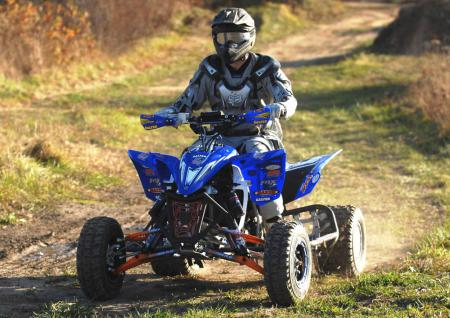 Stay tuned for a complete ride review of the TPR project YFZ450R right here at ATV.com.