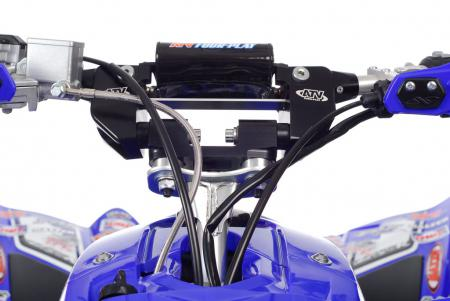 TPR also teamed up with ATV Four Play on a set of its new Generation II Soft Bars, which pivot and help absorb impacts to reduce rider fatigue.