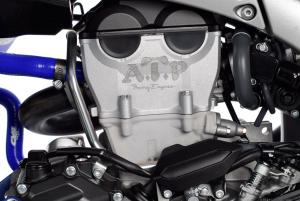 Perry, Fla. based ATP Racing Engines increased the stock YFZ-R power output by 20 percent with changes to the head, cams, piston, exhaust, intake and fuel management.