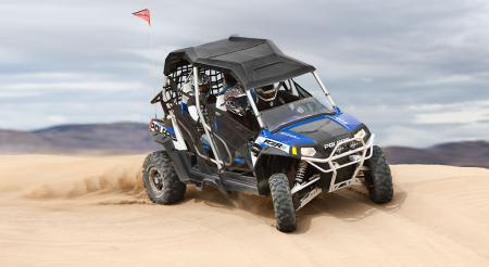 A full line of accessories is available for the RZR 4.