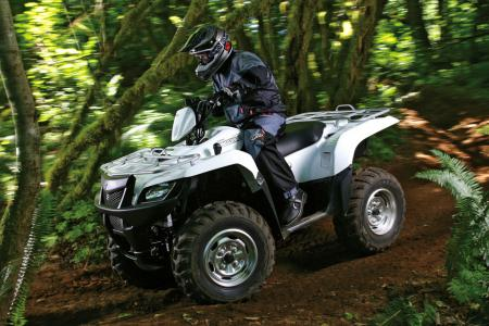 Suzuki has a winner on its hands with the new KingQuad 500 AXI.