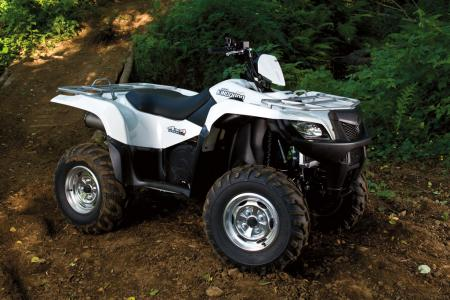 2010 Suzuki KingQuad 500AXI with Power Steering