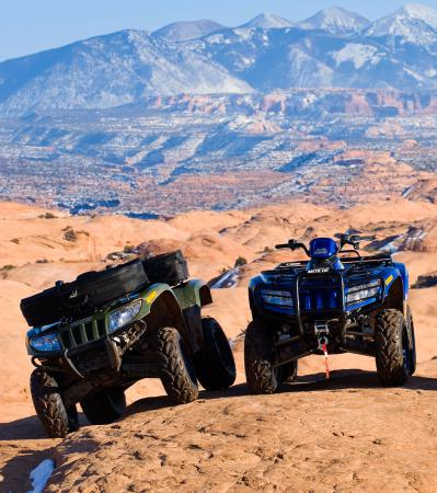 Arctic Cat introduced the 700 S in the breathtaking Manti-La Sal National Forest.