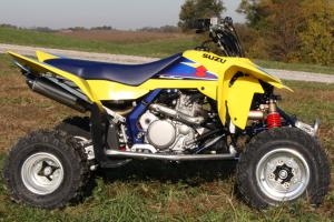 Despite having the second lowest MSRP of this group, Suzuki opted for very few modifications for the shootout.