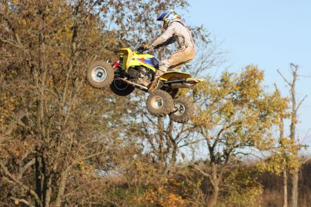 Thanks to a wide powerband and superb handling, the LTR posted the best moto times in our shootout.
