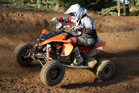 KTM�s brakes are as good as anything we�ve tested.