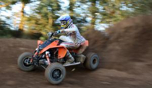 Better riders will like the KTM�s agile handling.