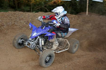 A power commander might have been all that kept the YFZ450R from the quickest lap times.