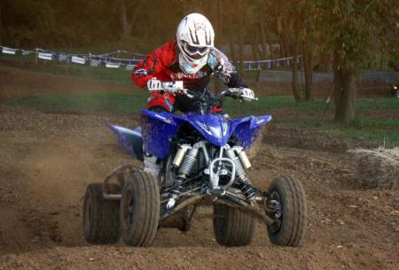 The YFZ suspension fits the widest range of riders.