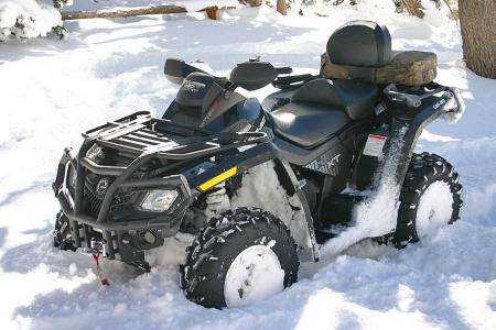 2009 Can-Am Outlander MAX 800R EFI XT