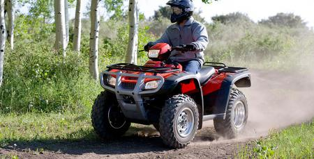Honda�s Electric Power Steering makes for less stress on your body after a long, rough ride.