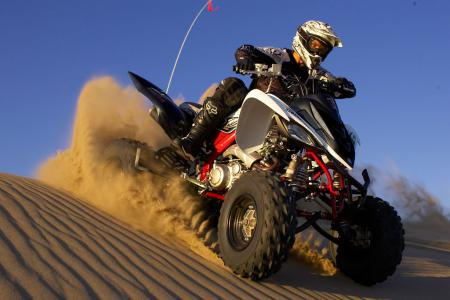 If you're looking for a dune-specific ride, The Raptor 700R SE makes the most sense to us.