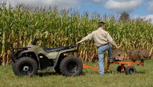 Electric ATVs are an attractive option for farmers.