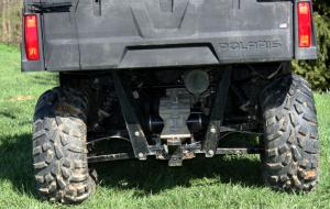 Polaris has a well-earned reputation when it comes to plush suspension and the Ranger 400 certainly lives up to it.