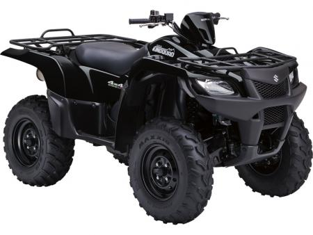 For the first time the KingQuad 500 AXi is available without power steering.