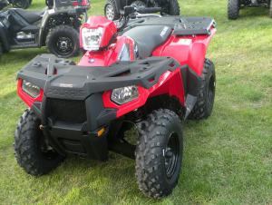 The value-model Sportsman ATVs receive a new front end that offers improved sight lines from the cockpit.