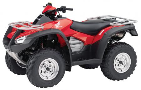 2008 Honda FourTrax Rincon Review - ATV.