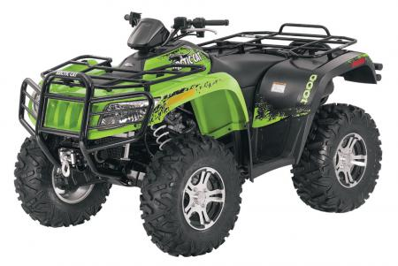 2011 Arctic Cat 1000 LTD in Sublime Green Metallic