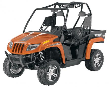 2011 Arctic Cat Prowler XTX 700 in Copper Metallic