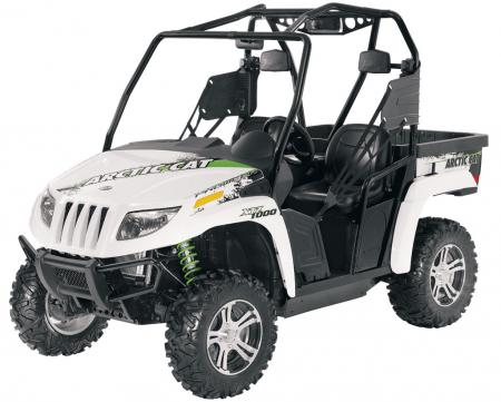 2011 Arctic Cat Prowler XTZ 1000 in White Metallic