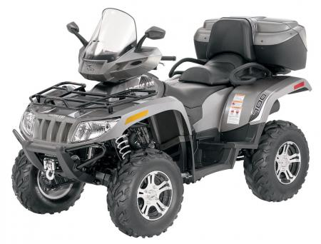 2010 Arctic Cat TRV 700 Cruiser in Tungsten Metallic