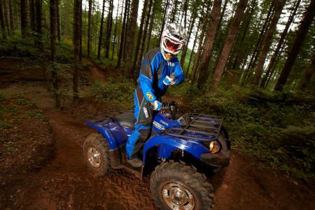 2011 Yamaha Grizzly 450 4x4 Eps Review Atv Com