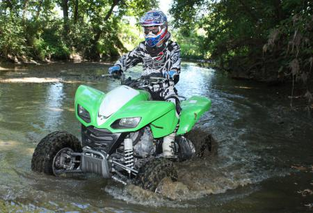 If you�re looking for an easy-to-use, sporty trail tamer, the powerful KFX700 certainly fits the bill.
