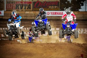 Yamaha�s custom-built track was the perfect place to showcase the newest Raptor.