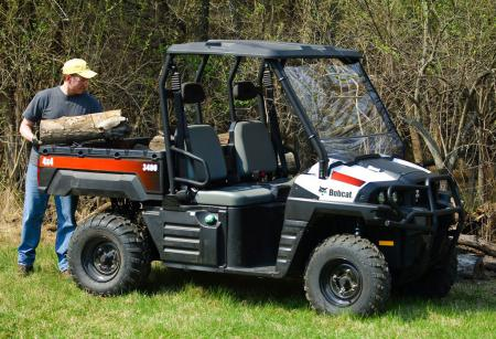 The Bobcat 3400 4x4 will help you get the work done quicker.