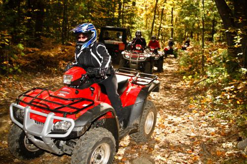 Honda Canada has been a big supporter of VMUTS and we were fortunate enough to have a fleet of Honda ATVs at our disposal.