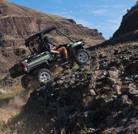 A locking rear differential can help you get over the nastiest terrain.