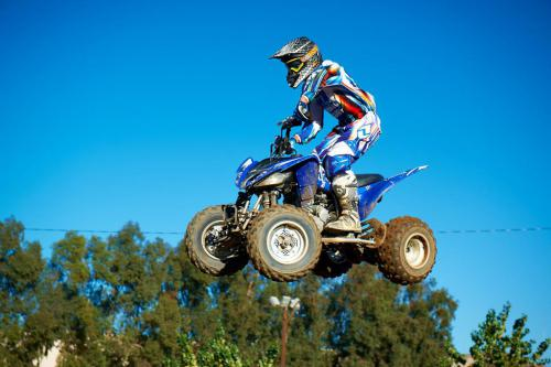 2011 Yamaha Raptor 250R Action06