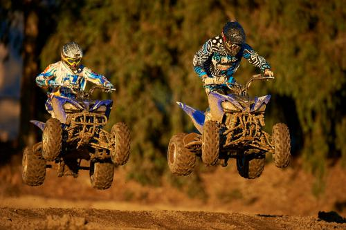 2011 Yamaha Raptor 250R Action20