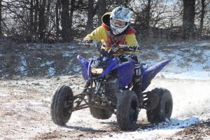 2011 Yamaha Raptor 125 Trail Review