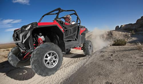 2011 Polaris Ranger RZR XP Action