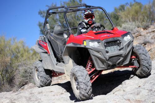 2011 Polaris Ranger RZR XP Rock Crawling