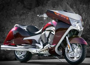 Once a 'snowmobile-only' company, Polaris now includes Victory motorcycles like the Street Vision in its product mix.