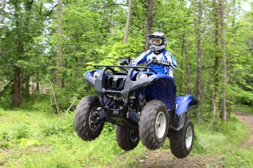 2011 Yamaha Grizzly 700 EPS Action 09