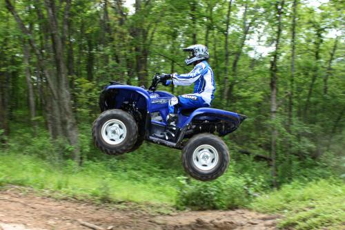 2011 Yamaha Grizzly 700 EPS Action 10