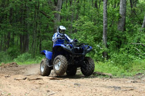 2011 Yamaha Grizzly 700 EPS Action 15