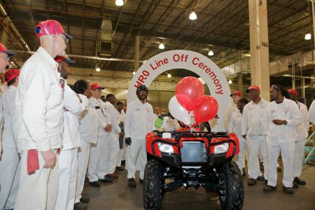 Honda Of South Carolina Plant Tour